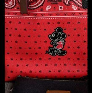 Coach Disney Mickey reversible Tote